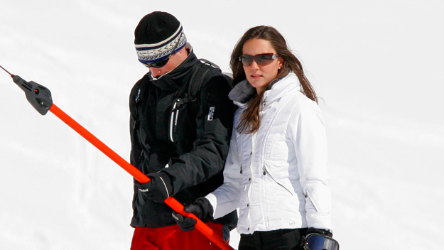 William whisks Kate away for romantic ski break